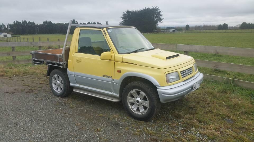 Suzuki vitara ute