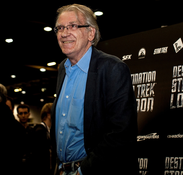 David Warner At The Star Trek London Event