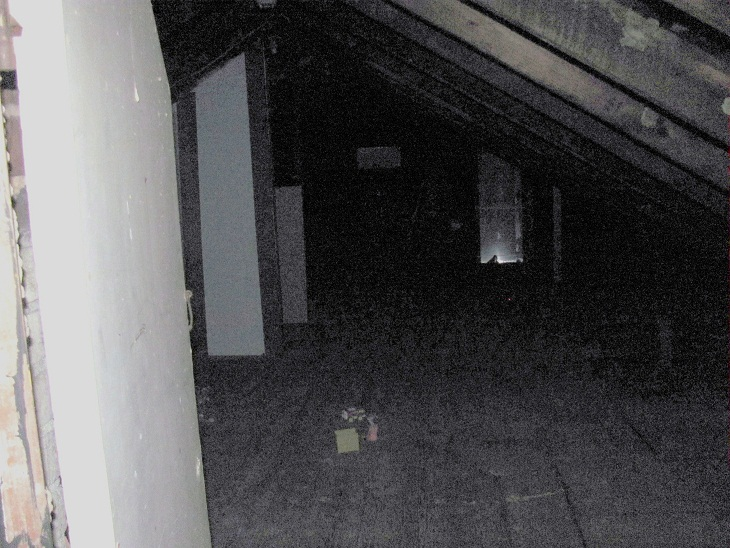 Skeleton in the Attic at Morse Mill