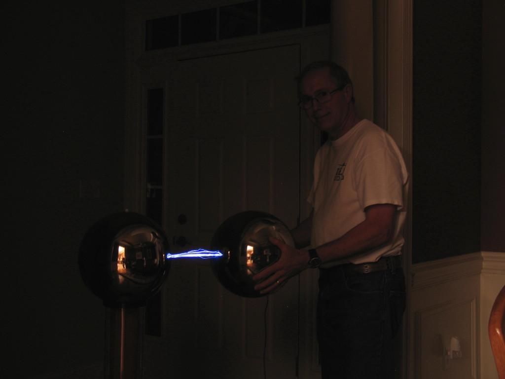 Rod and 500 Kv arcs