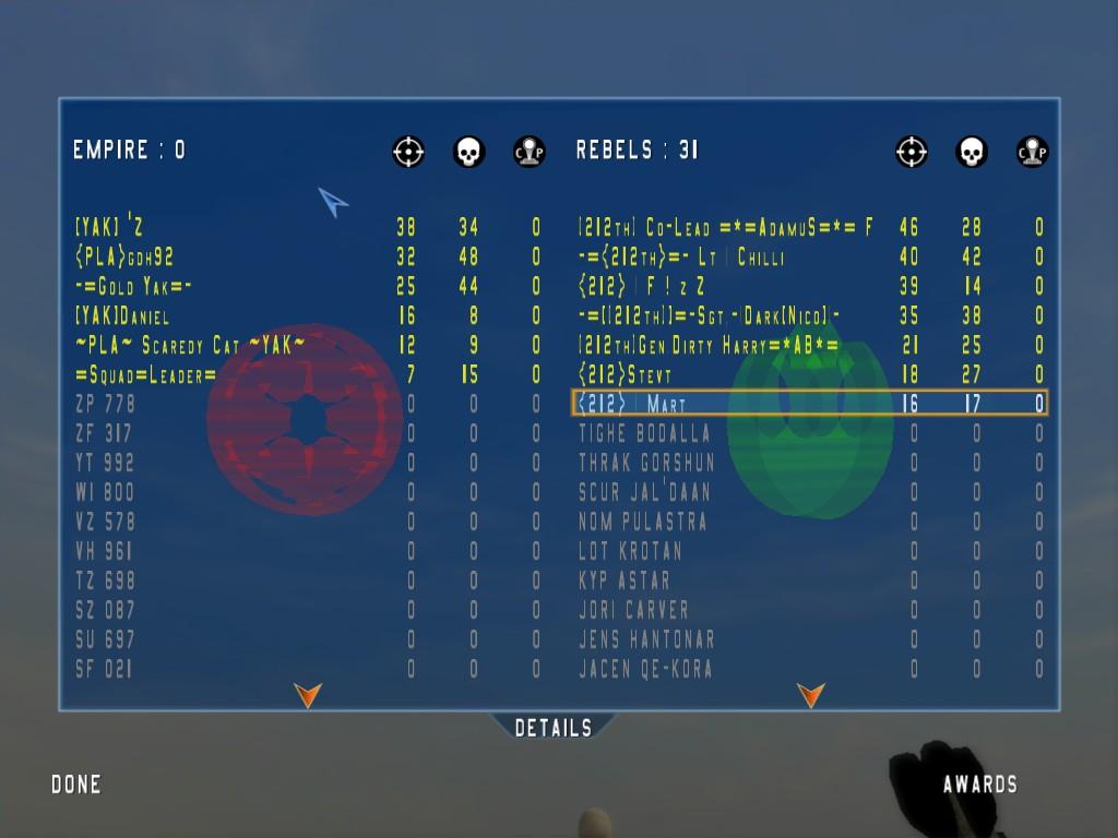 212 vs YAK