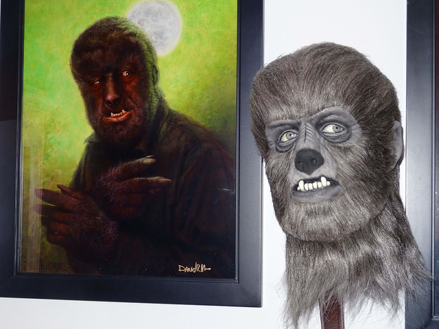 Lon Chaney Jr. as the Wolfman