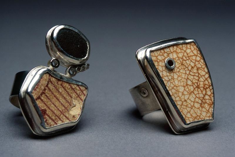 pottery shard rings