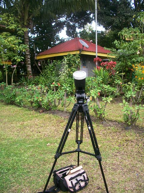 Solar Observation at Monte Cielo