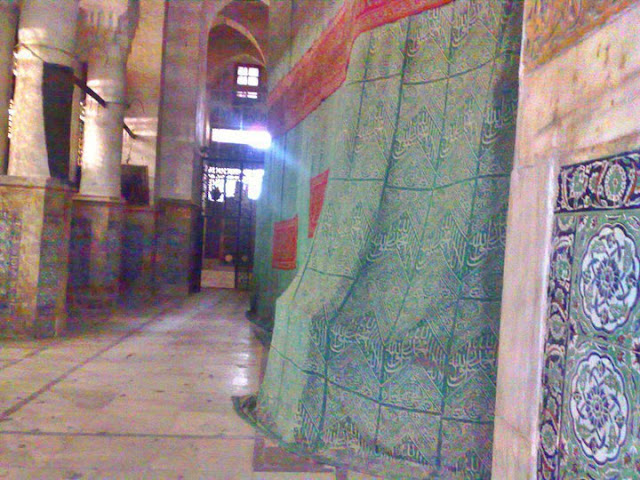 Inside Of  Muwajah Shareef  Of  Roza e Rasool ( P.B.U.H )