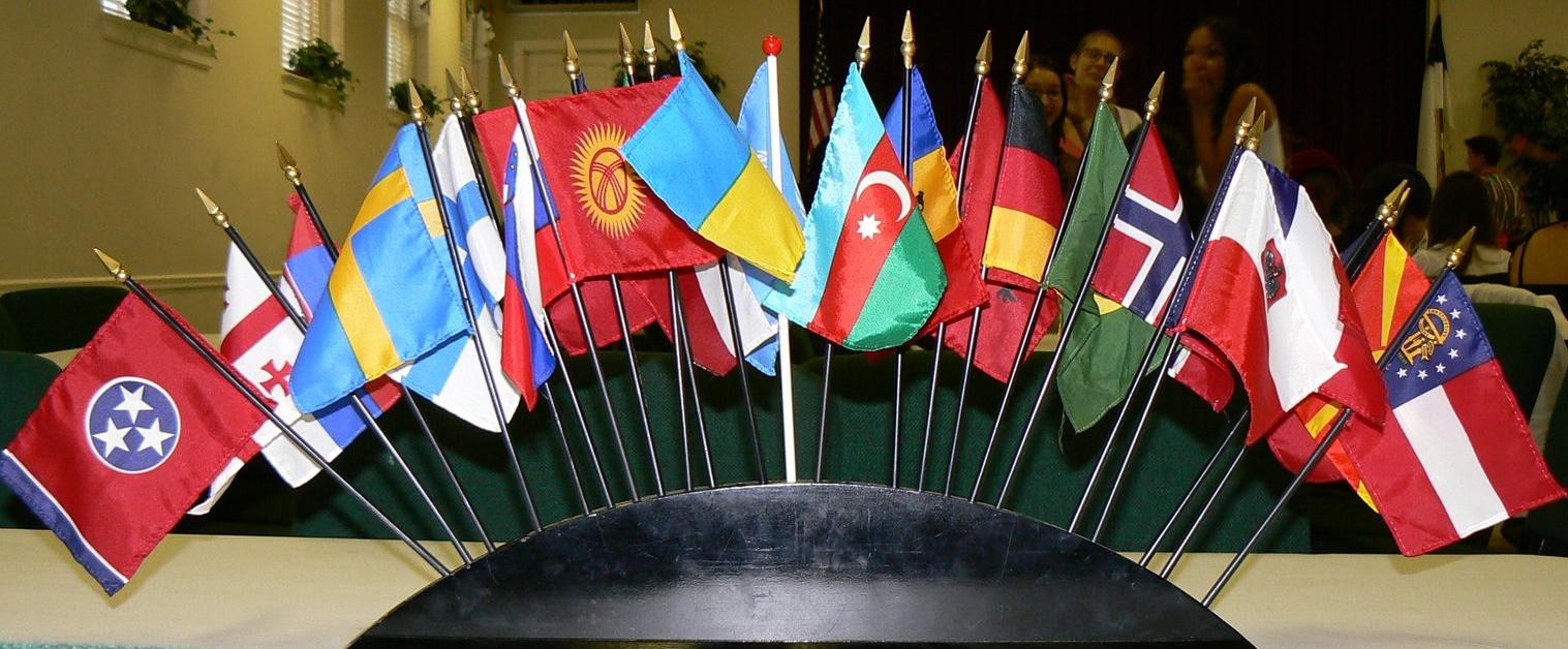 Stock flags photo