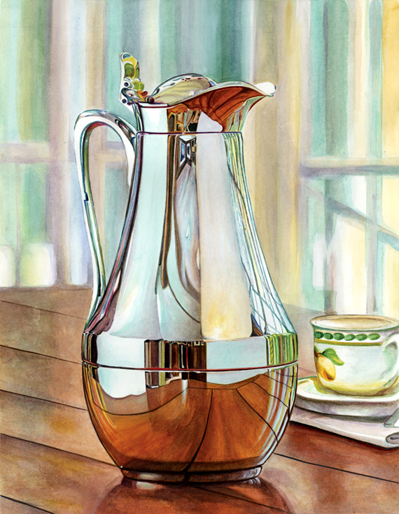 """Room Through the Water pitcher """