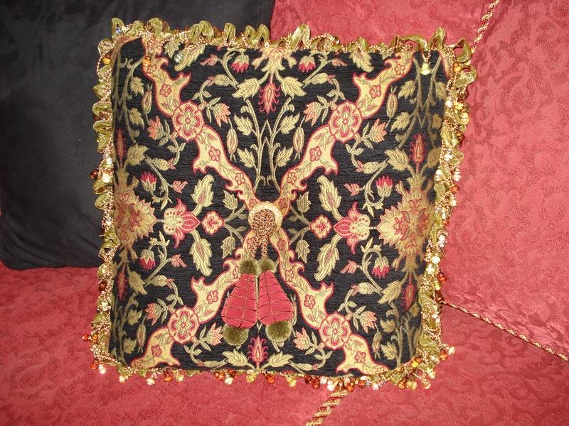 decorative custom pillow