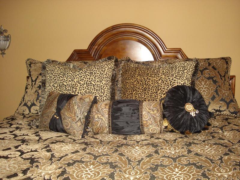 Damask and animal bedding