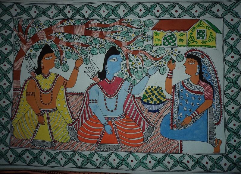 Ram, Lakshman & Sita during exile(Vanvaas)