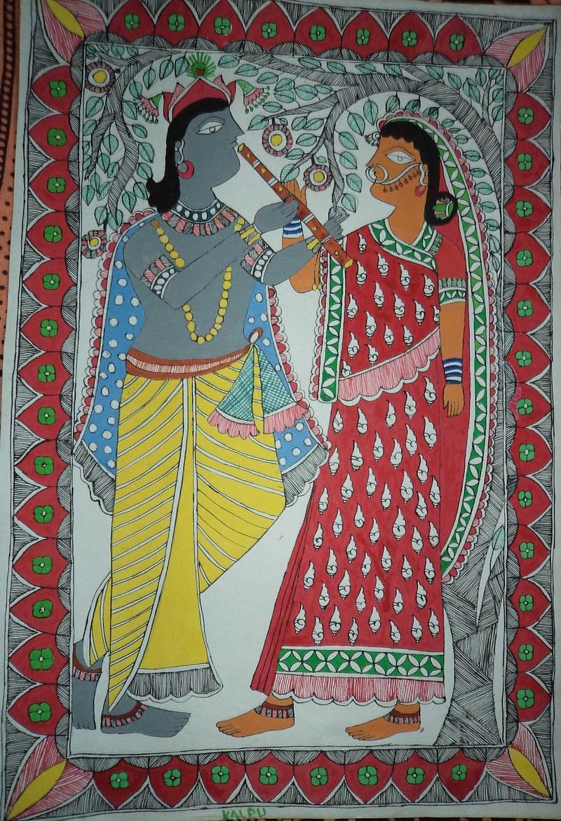 Lord Krishna & Goddess Radha