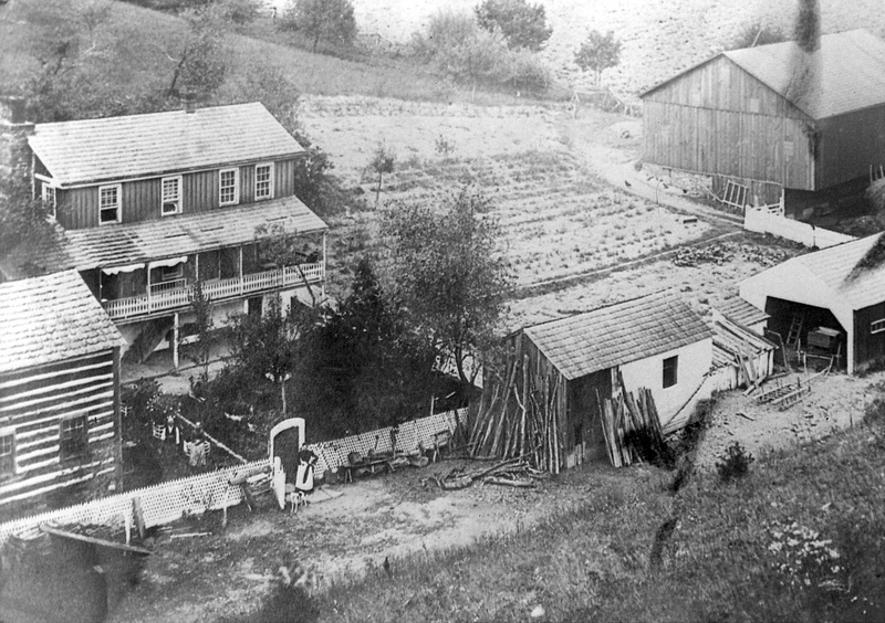 Kissinger Farm taken about 1890