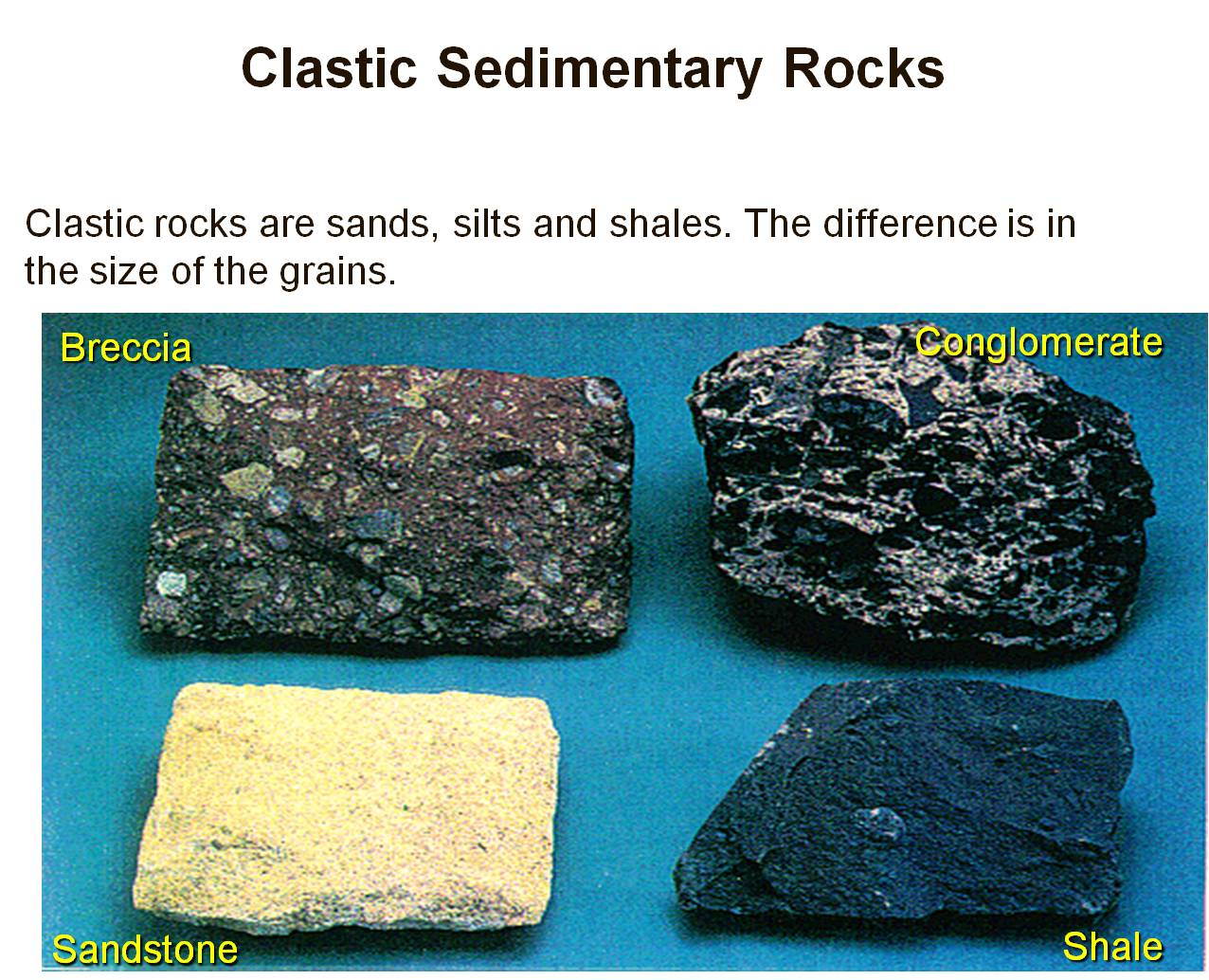 Clastic sedimentary rocks can be directly dated using isotopic dating 2