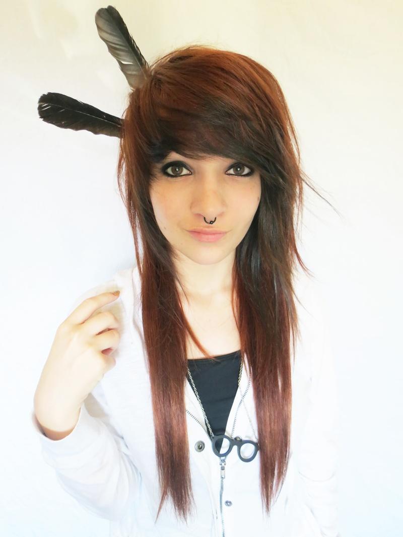 Emo frisur kurze haare
