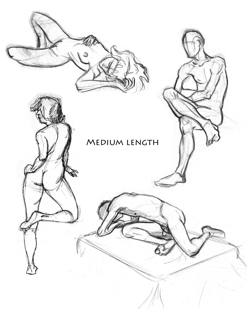 Medium Length Poses pg. 2