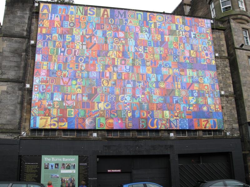 Burns Banner Edinburgh