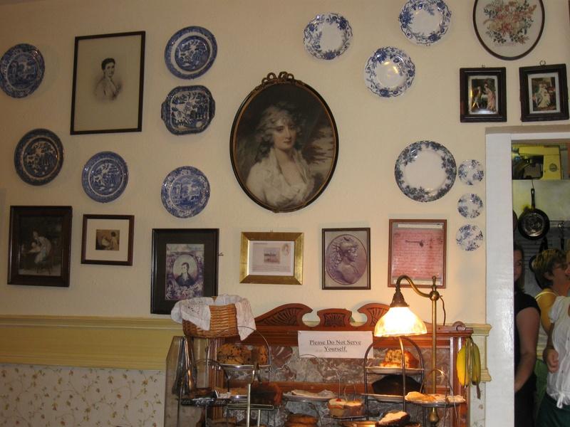 Clarinda�s Cafe in Edinburgh
