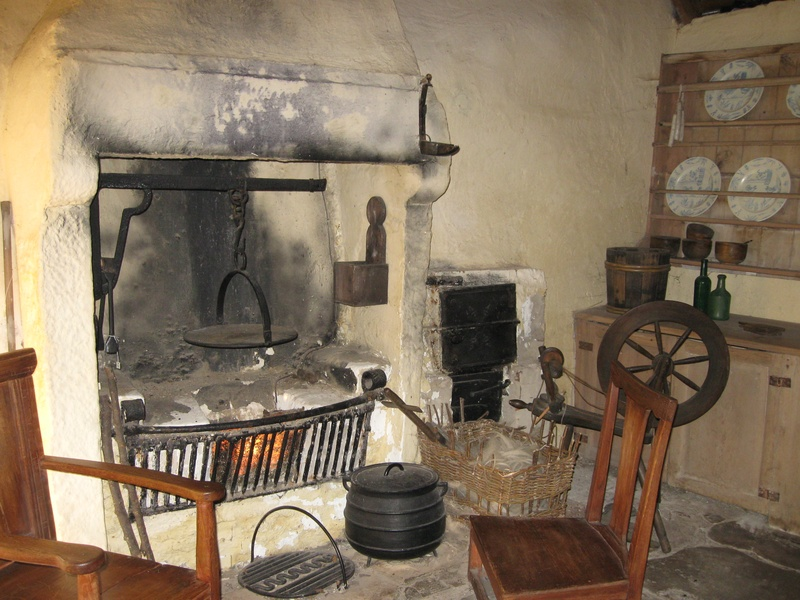 Inside Burns Cottage