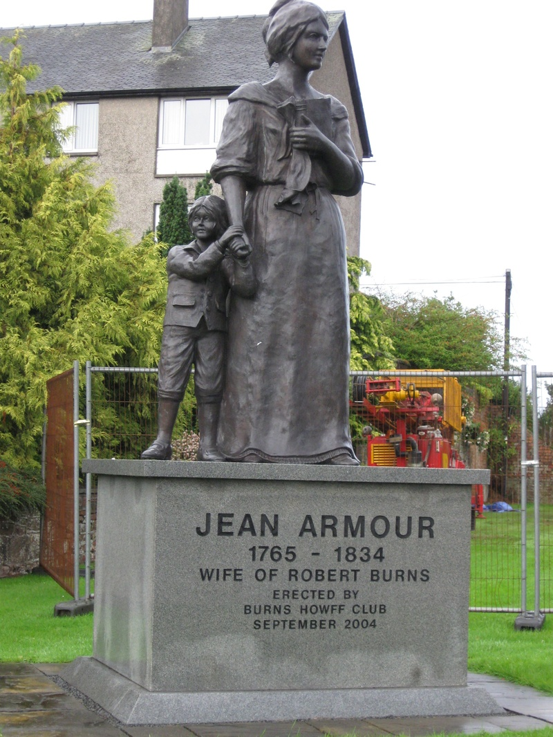 Jean Armour's statue