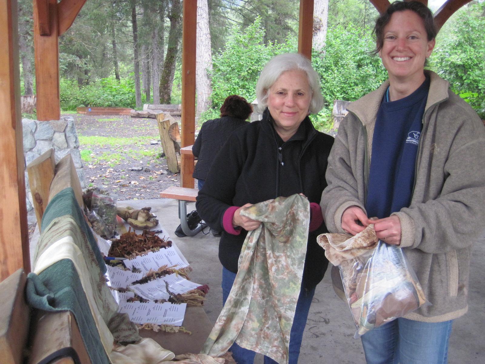 Dye Workshop participants