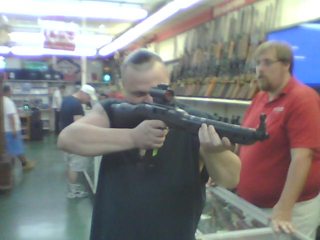 seven griffin gun shopping
