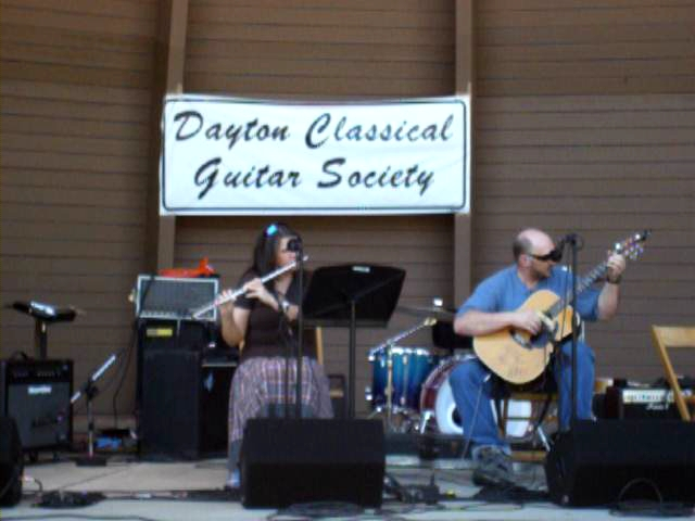 Me and my wife(Kim) at Dayton Guitarfest