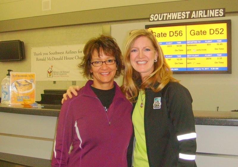 Chris & Kim in Milwaukee on their way to AZ!