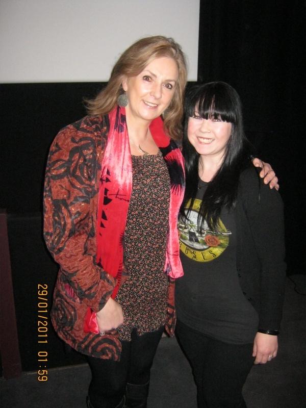 myself and moya brennan jan 2011