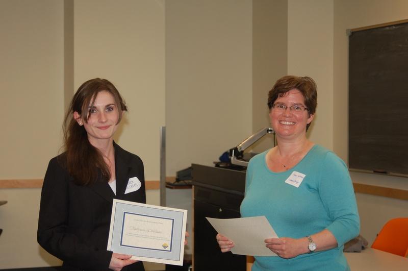 2nd place graduate