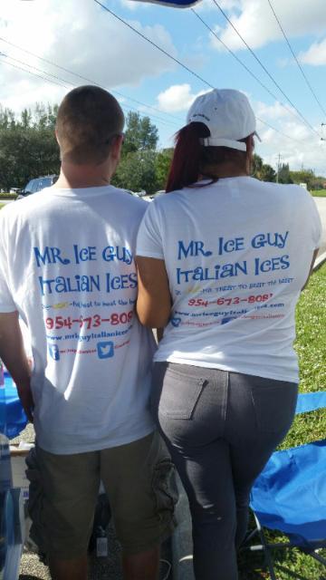 Mr. & Mrs. Ice Guy