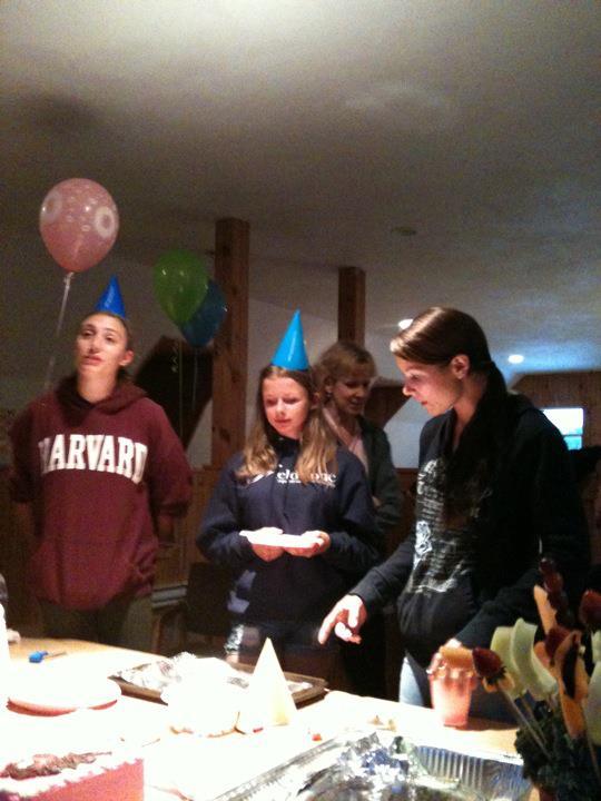 Megans Birthday- Courtney, Cara, Megan
