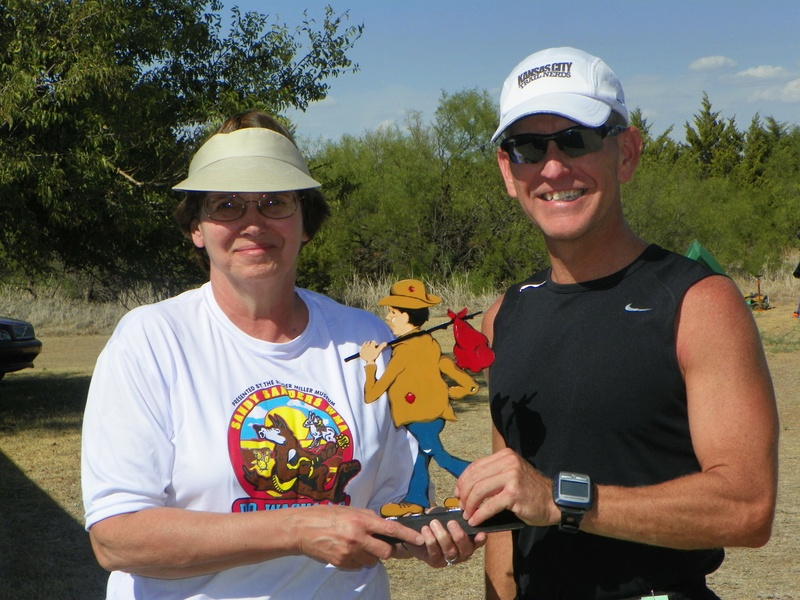 Michael Adams wins 50 mile trail run