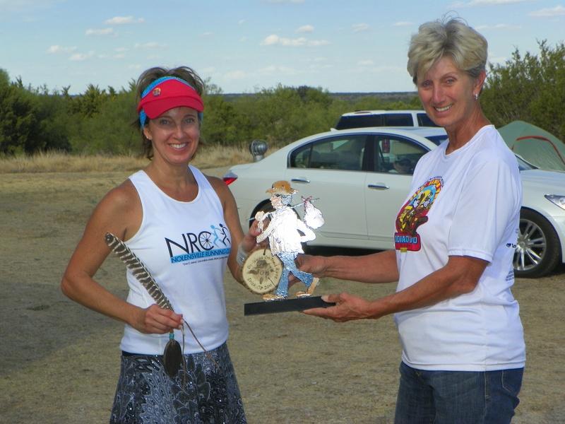 Diane Bolton, only woman to enter 50 mile run