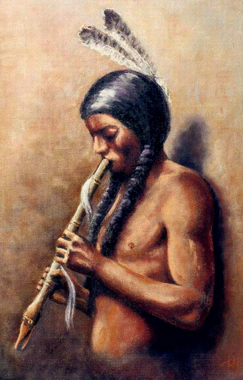 The Flute Player 1