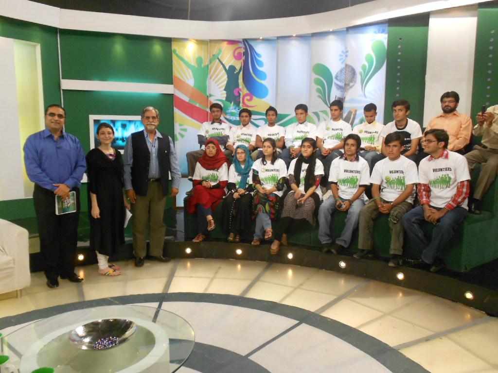 Behtar Pakistan Episode Recording Karachi Nov 3, 12