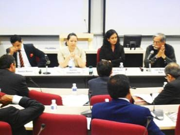 Panel Discuaaion during a workshop