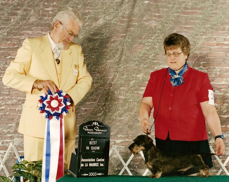 Krista and Winston Best In Show