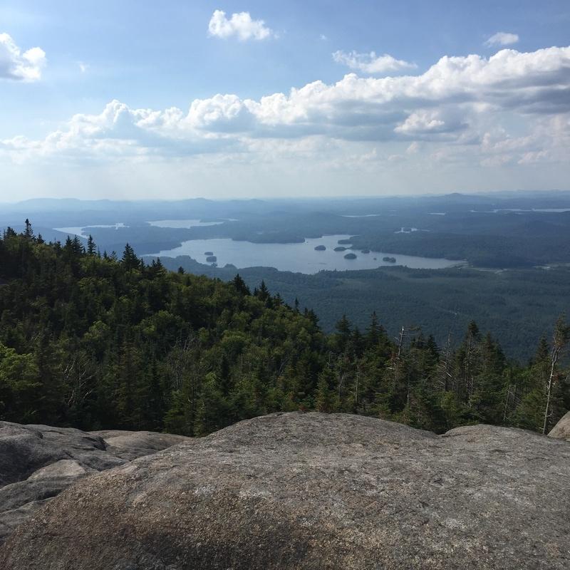 North view (Middle Saranac Lake)