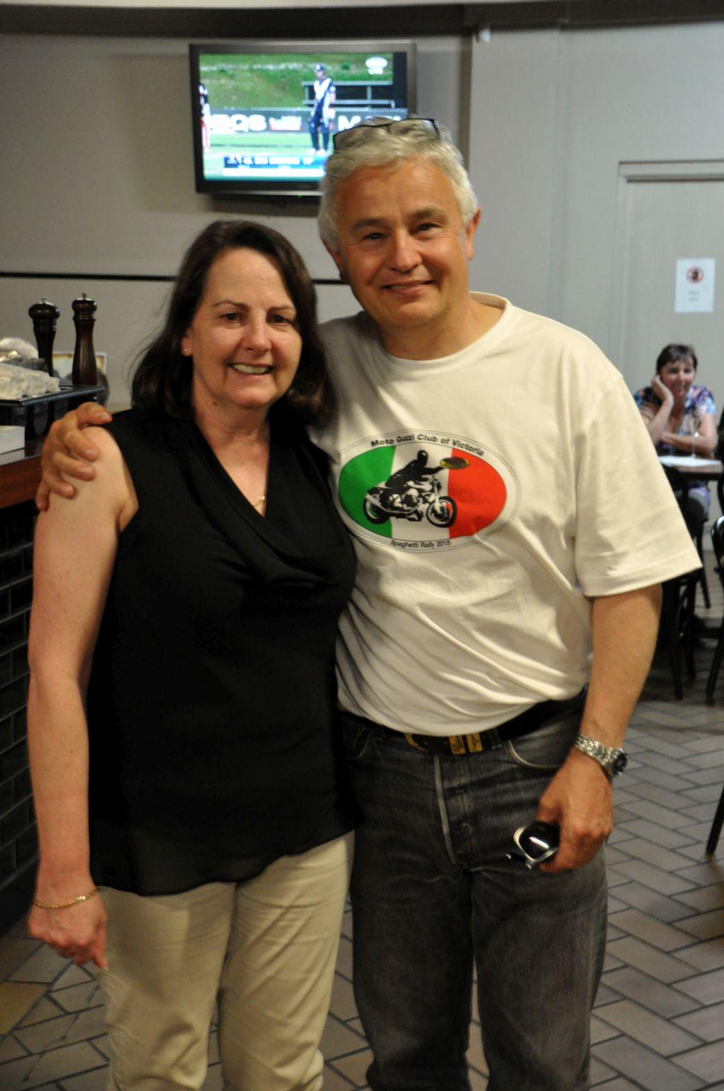 Neil and Kath....cute couple!