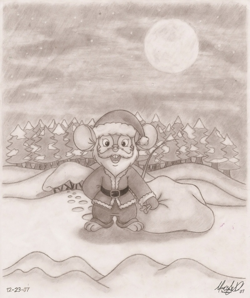 Fievel Santa Claus
