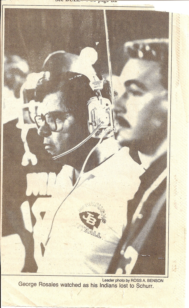 Late Coach George Rosales 1985