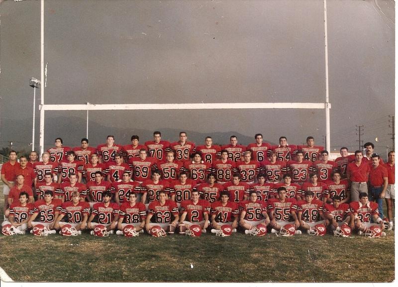 1986 CIF Semi Finalist, 10-2-1