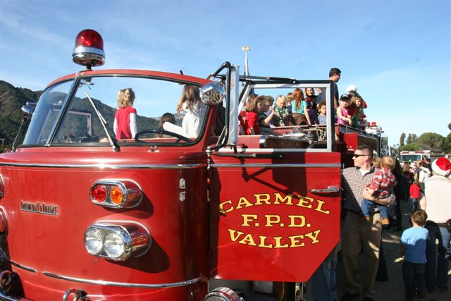 Valley Volunteers Antique Fire Truck