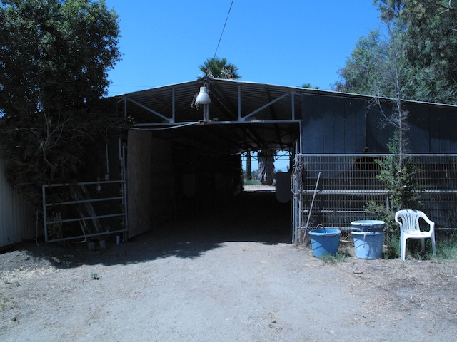 The Old Barn Before Re-build