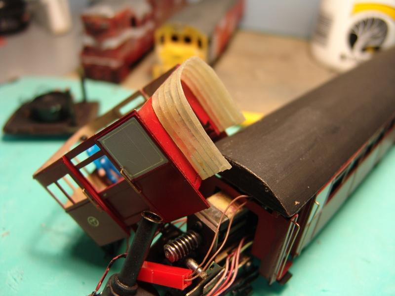Diaphragm build - railcar