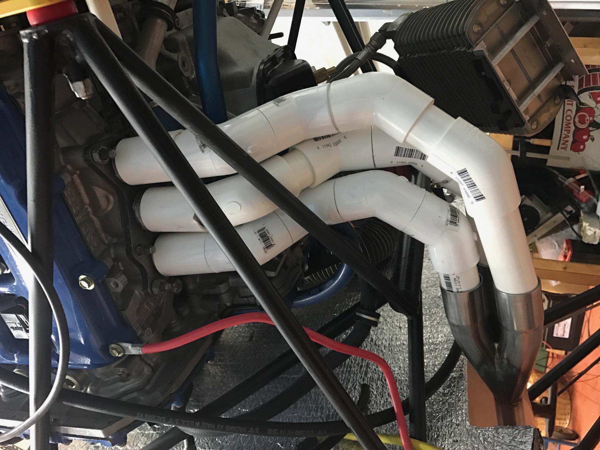 Exhaust Header Mockup