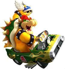 Mario Kart Bowser