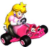 Mario Kart 64 Peach