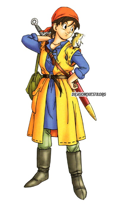 dragon quest 9 how to change class