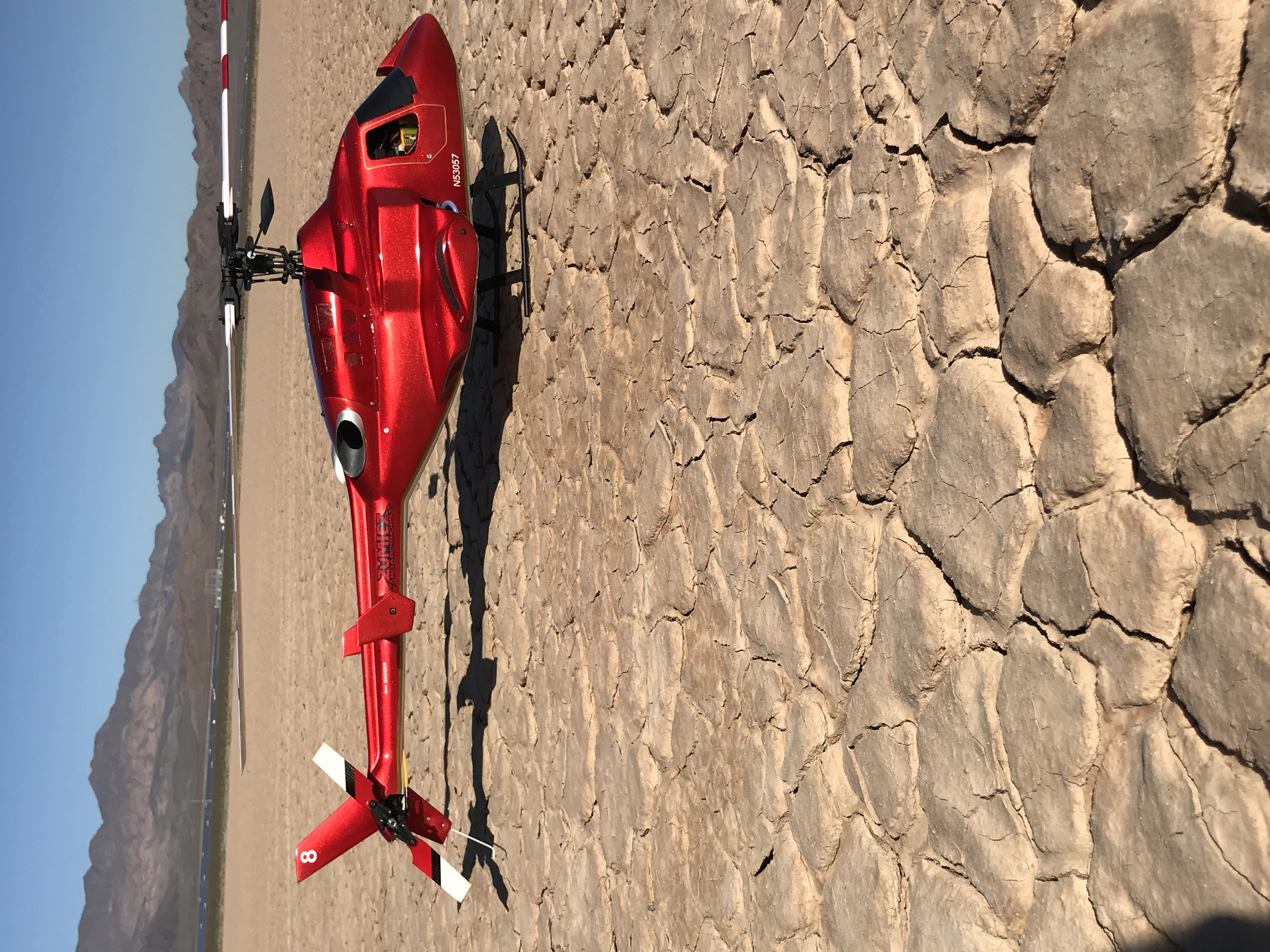 Hawk 30 Nitro in Bell 222 body - Candy Apple Red